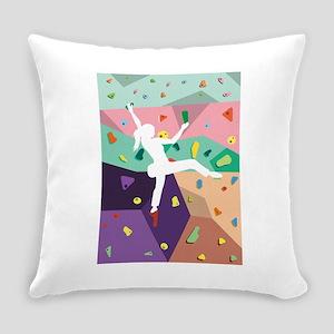 Wall Climbing Indoor Activities In Everyday Pillow