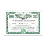 PRR 1959 Stock Certificate Mini Poster Print