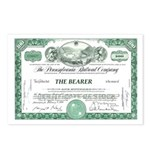 PRR 1959 Stock Certificate Postcards (Package of 8