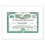 PRR 1959 Stock Certificate Small Poster