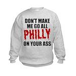 Philadelphia Baseball Kids Sweatshirt