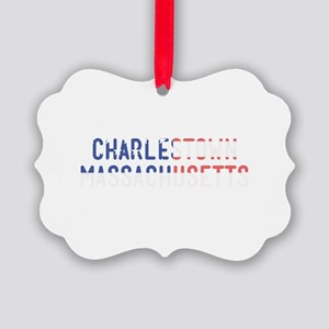Charlestown Massachusetts Picture Ornament