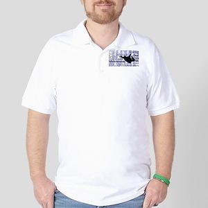 Jump (Blue Text) Golf Shirt