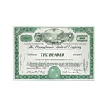 PRR 1959 Stock Certificate Rectangle Magnet (10 pa