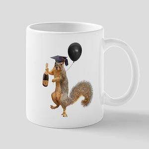 Graduation Squirrel Balloon Mugs