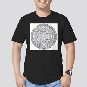 aztec_calendar_drawing T-Shirt