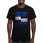 New York Baseball Men's Fitted T-Shirt (dark)