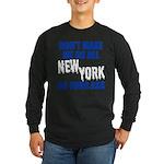 New York Baseball Long Sleeve Dark T-Shirt