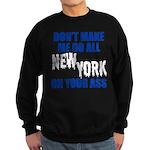 New York Baseball Sweatshirt (dark)