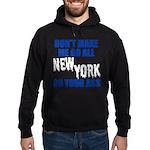 New York Baseball Hoodie (dark)