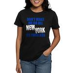 New York Baseball Women's Dark T-Shirt