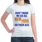 New York Baseball Jr. Ringer T-Shirt