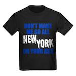 New York Baseball Kids Dark T-Shirt