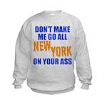 New York Baseball Kids Sweatshirt