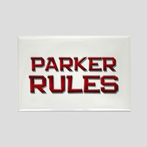 parker rules Rectangle Magnet