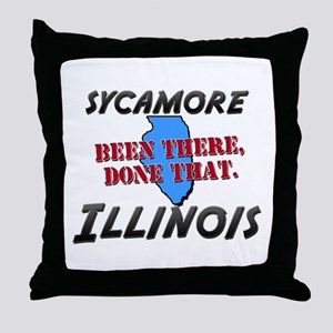 sycamore illinois - been there, done that Throw Pi