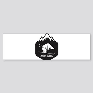 Wolf Creek Ski Area - Pagosa Spri Bumper Sticker