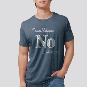 Quote Hamlet No Women's Dark T-Shirt