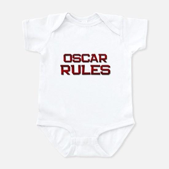 oscar rules Infant Bodysuit