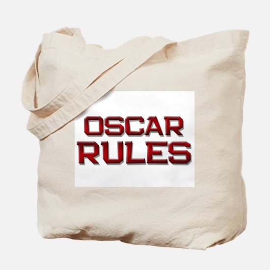 oscar rules Tote Bag