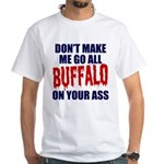 Buffalo Football White T-Shirt