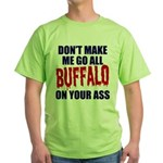 Buffalo Football Green T-Shirt
