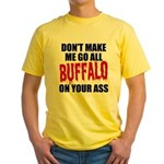 Buffalo Football Yellow T-Shirt