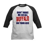 Buffalo Football Kids Baseball Jersey