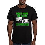 New York Football Men's Fitted T-Shirt (dark)