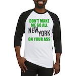 New York Football Baseball Jersey