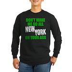 New York Football Long Sleeve Dark T-Shirt