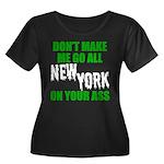 New York Football Women's Plus Size Scoop Neck Dar