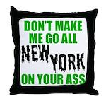 New York Football Throw Pillow