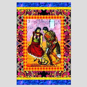 Vintage Jarabe Tapatio Loteri Large Poster