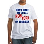 New York Football Fitted T-Shirt