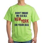 New York Football Green T-Shirt