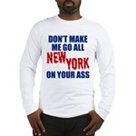New York Football Long Sleeve T-Shirt
