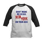 New York Football Kids Baseball Jersey