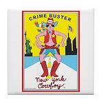 CRIME BUSTER(New York Cowboy) Tile Coaster