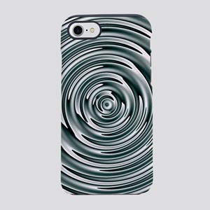 Silver Circles iPhone 7 Tough Case