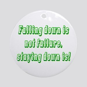 Falling down Ornament (Round)
