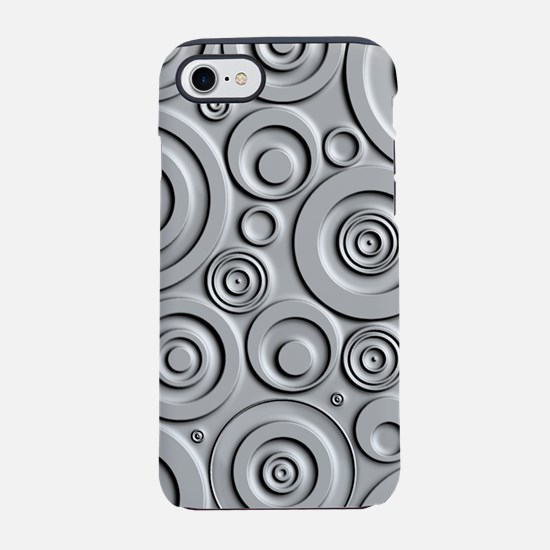 Metallic Circles iPhone 7 Tough Case