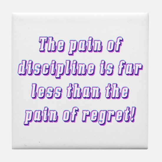 Discipline Tile Coaster