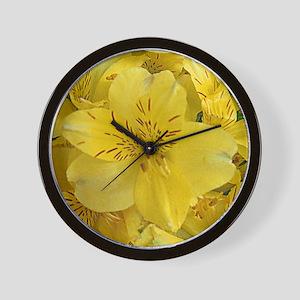 Yello lily Wall Clock
