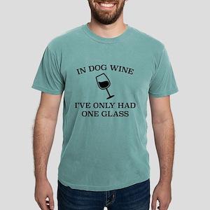 In Dog Wine White T-Shirt