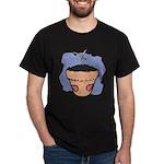 Flower Pot Black T-Shirt