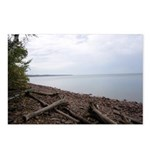 oddFrogg Lake Superior Cloudy Day Postcards (8 pk)