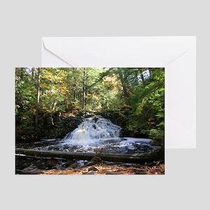 oddFrogg Michigan Waterfall Greeting Cards (10 pk)