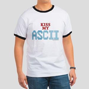 Kiss My Ascii Ringer T