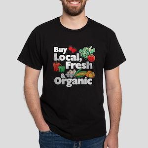 Buy Local Fresh & Organic Dark T-Shirt